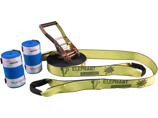 Elephant Slacklines Rookie Kit Flash'line, neon
